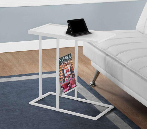 Alliance Side Table,White - Small Space Furniture Toronto