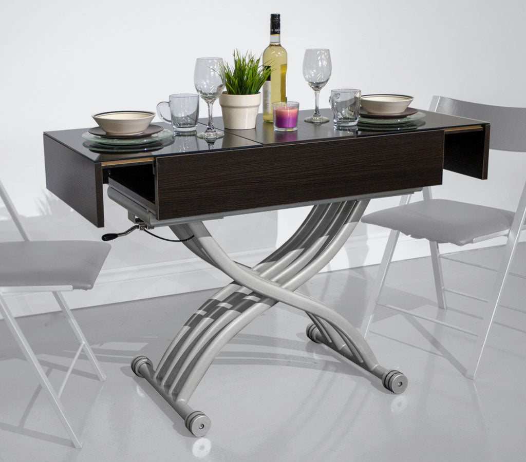Convertible Coffee Dining Table Ruby Small Space Plus