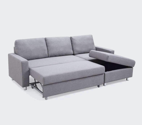 Serendipity Sectional Sofa Bed With Storage | Small Space Plus