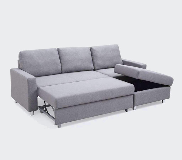 "sectionalsSerendipity 88"" Sectional Sofabed with Storage"