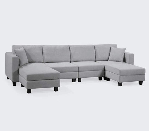 Waterloo 6-Piece Modular Sofa with Storage | Small Space Plus