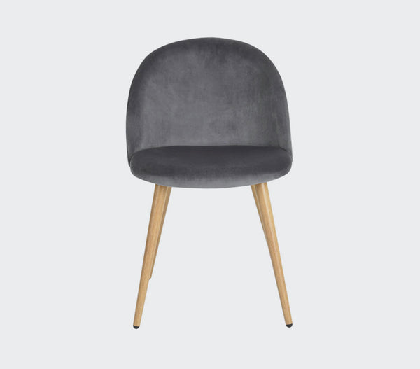 Zomba Velvet Accent Chair | Small Space Plus