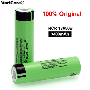 Varicore 3.7 v 3400 mah 18650 Lithium Rechargeable Battery