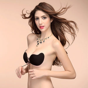 Mango Shape Slicone Invisible Bra