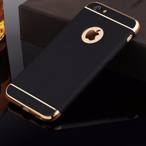 Luxury Black Matte Hard 360 Protection Case For iphone 6 S 7 8 Plus Iphone X