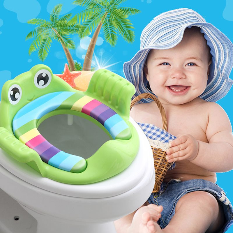 kids Potty Toilet Seat With Ladder
