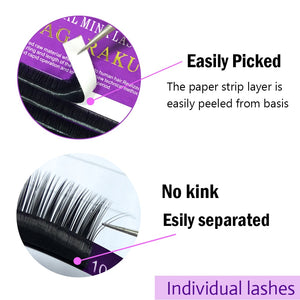 WOW!16 Rows Faux mink individual eyelash lashes