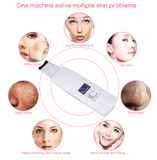 Ultrasonic Skin Scrubber Face Cleanser Blackhead Acne Removal Facial Spa Vibration Massager Ultrasound Peeling Clean Machine 394