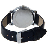 Convex meridian belt watch