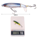13G/10CM road sub-bait propeller tractor hard bait floating water pencil lure bait giveaway