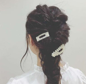 Large Fashion Pearl Hair Clips