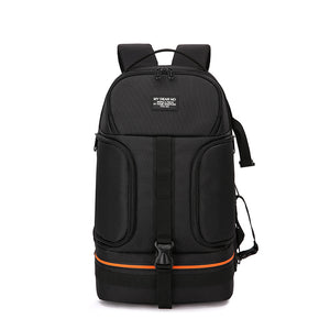 Photo Video Waterproof Shoulders Backpack w/ Night Refelctor Line Tripod Case fit 15.6inch Laptop for Camera