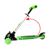 Foldable Kids Scooter With 4 Flash PU wheel