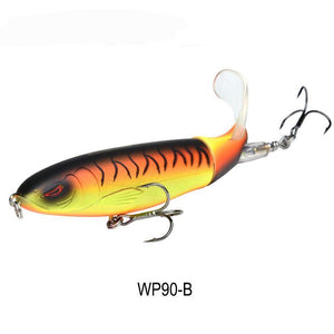 Amazing Spining Tail Fishing Lure