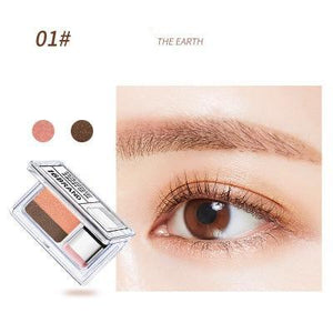Dual Phase Waterproof Eyeshadow Makeup Palette Pigment