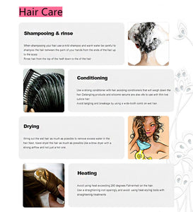 Curly Brazilian Human Hair Wigs With Baby Hair