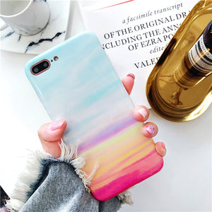 Marble Phone Case IPhone X 7 6 6S 8 Plus Cover 8Plus 7Plus