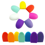 Makeup Brushes Scrubber Cosmetic Brush Cleaner Tool