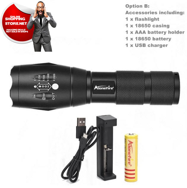 New Tactical Flashlight