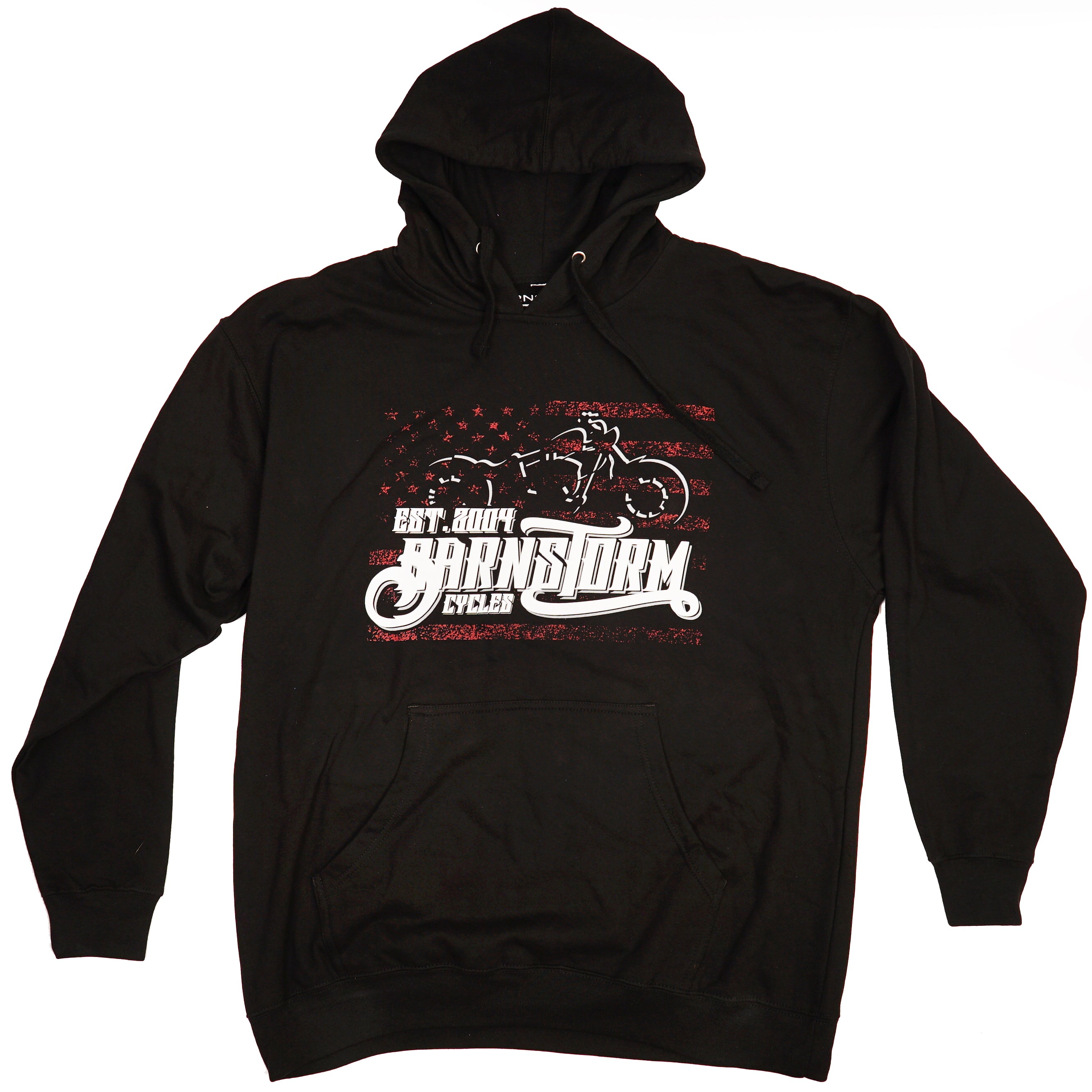 American Sporty Pullover Hoodie