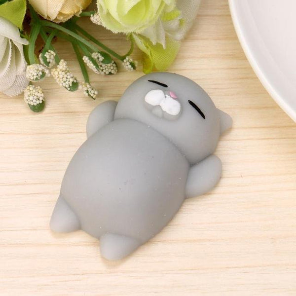 Cute Mochi Squishy Cat Squeeze Healing Fun Kids Kawaii Toy Stress Reliever Decor J7092