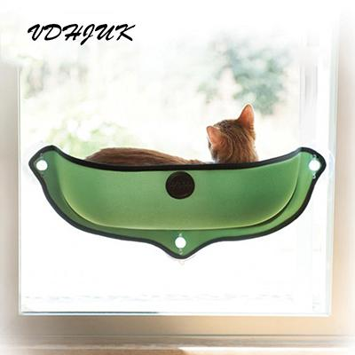 cat window bed Cat lounger Warm Bed Pet Hammock For Pet Cat Rest & House Soft And Comfortable Cat Ferret Cage