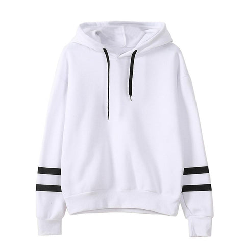 New Autumn Hooeded Sweatshirt Women  Long Sleeve Pullover Streetwear  Hoodies