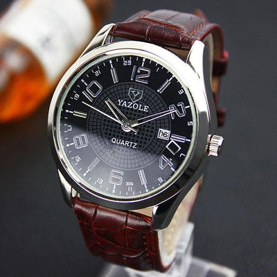 YAZOLE Wristwatch 2018 Wrist Watch Men Watches Top Brand Luxury Famous Quartz Watch For Male Clock Relogio Masculino With Date