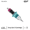 TATSoul Envy Gen 2 Cartridge #7 Nano 3 Round Liner .23 mm