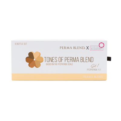 Tones of Perma Blend Set 1 (Fitzpatrick 1-2)
