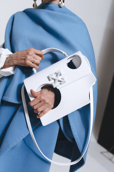 "Virgil Abloh's Latest Off-White It Bag Is Intentionally ""Unfunctional"""