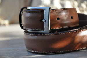 How to judge the quality of leather belts for men