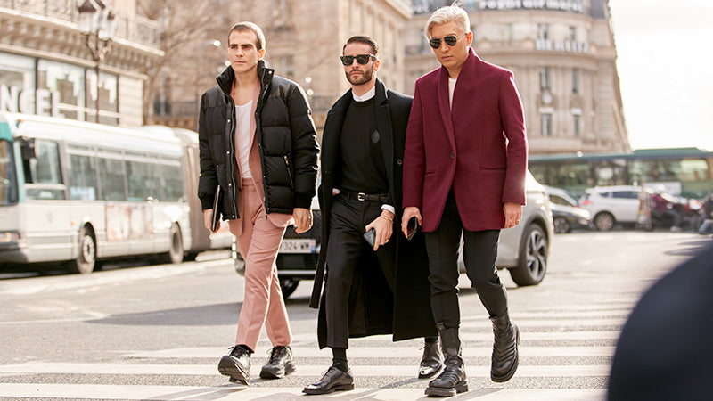 10 TOP FASHION TRENDS FROM MEN'S FASHION WEEK A/W 2020