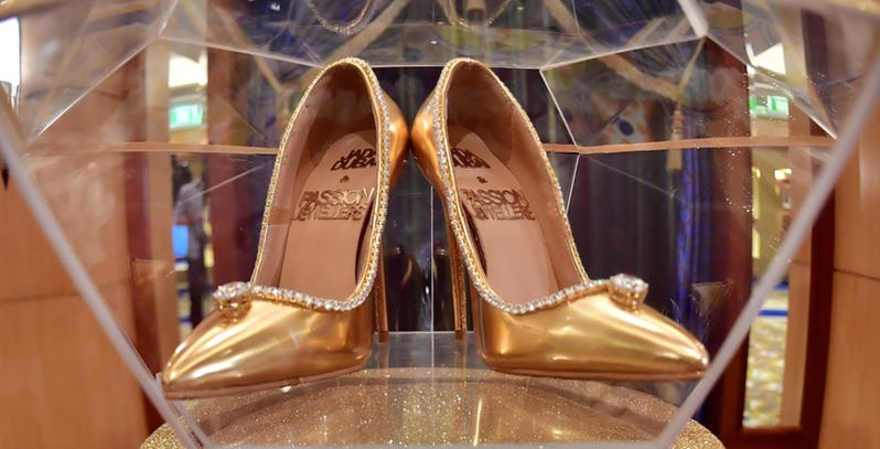 The 10 Most Expensive Pairs Of Shoes In The World