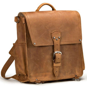 The Saddleback Leather Messenger Backpack brings back a classic design in a new format!