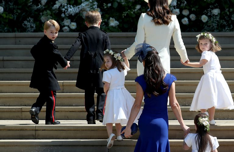 Prince George and Princess Charlotte had this adorable detail on their royal wedding outfits