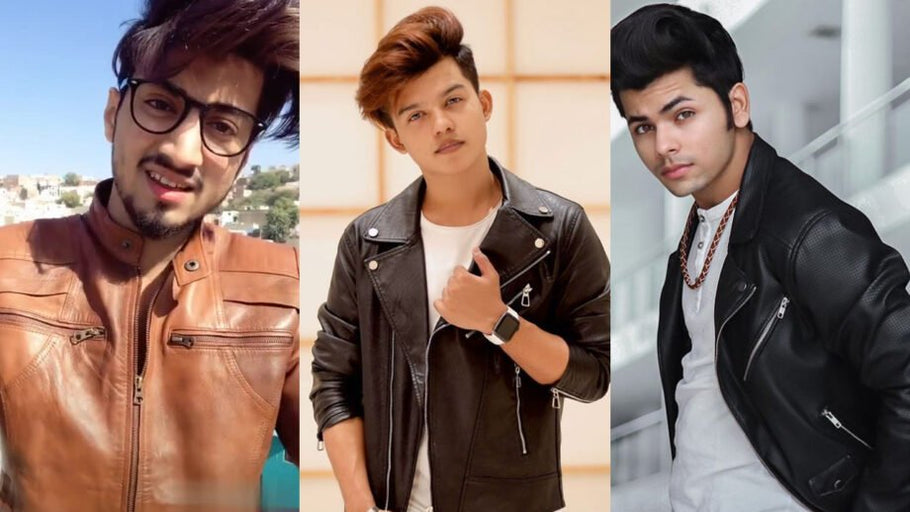 Faisu, Riyaz Aly And Siddharth Nigam Look Extremely Fashionable in Leather Jacket!