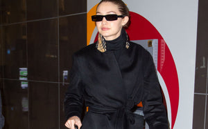 Gigi Hadid Arrives in NYC Wearing This Celeb-Favorite Dr. Martens Boot