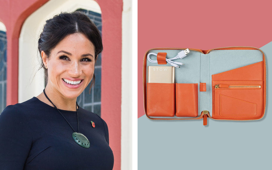 Meghan Markle's Favorite Leather Travel Case Now Comes in a Super-packable Mini Size