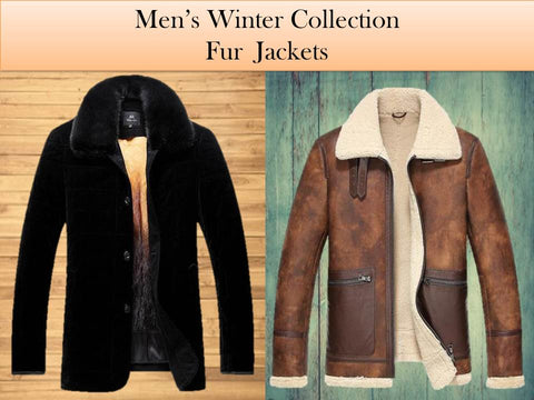 Winter Jackets With Fur For Mens