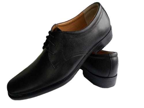 Genuine Leather Shoes Mens Outfit Formal Fashion Laceup Oxford Plain