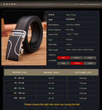 Men's Fashion Belts Genuine Cow Leather Straps Designer Quality Waistband