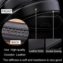 Men's Luxury  Belts Genuine Cow Leather Designer Belts  High Quality