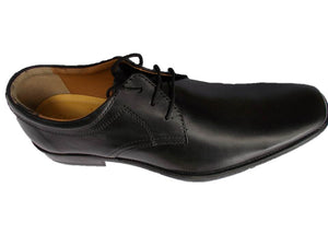 Genuine Leather Shoes Mens Outfit Formal Fashion Laceup Oxford Black Brown