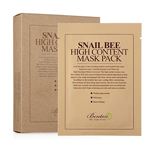Snail Bee High Content Sheet Mask Pack 20g (10 Pack), Mask, [product_vendor, ]- Atria Skin