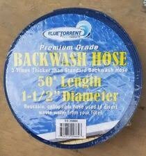 Backwash Hose 1 1/2