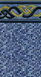 Fusion Tile with Radiance Floor (J-hook or beaded)(Select Size)