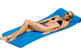 Swimline Sofskin Floating Mattress Blue
