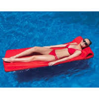 Swimline Sofskin Floating Mattress Red