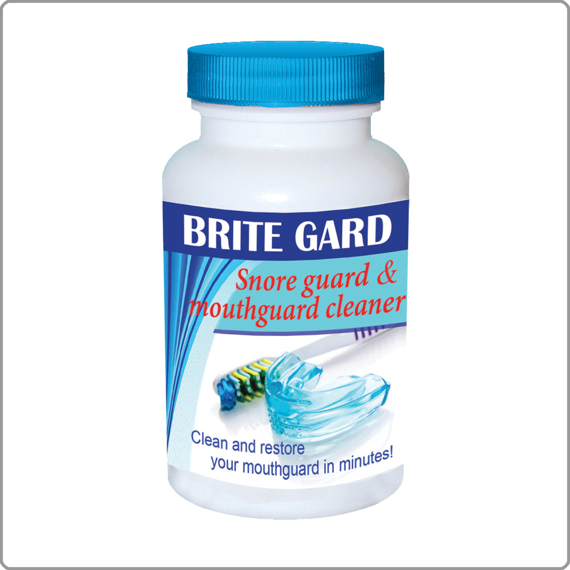 8 oz. Bright Gard - Mouth Guard Cleaner
